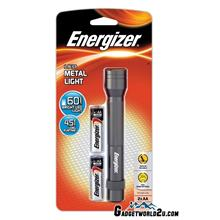 Energizer LED Metal Light 2AA 60L LED Flashlight LCM2AA