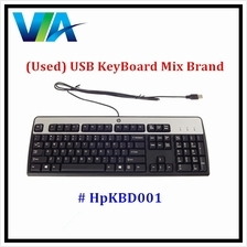 (Used) USB Keyboard Mix Brand (Japan Layout)