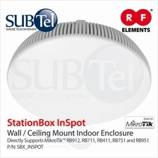 RF Elements StationBox InSpot Indoor Enclosure Mikrotik Ceiling Wall