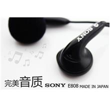 SONY MDR- E808  EARPHONE ( MADE IN JAPAN)