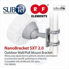 NanoBracket SXT 2.0 Oudoor Wall Pole Mount Bracket Mikrotik LTE NBS002