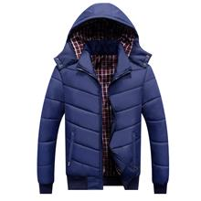 DOLLYPOODY Men Removable Hooded Thicken Winter Coat (3 Colours)