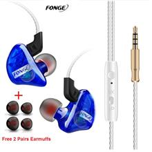 Fonge Sports Running Headset Stereo Earphone Super Bass Headphone