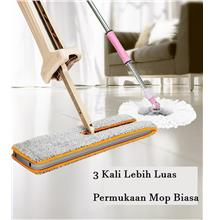 DOUBLE SIDED HANDS FREE MICRO FIBER MOP