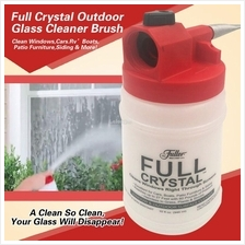 Full Crystal Outdoor Glass Cleaner Home Garden Handheld Spray Mighty