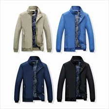 DOLLYPOODY Men Inner Print Lining Fall Plus Size Jacket (4 Colours)