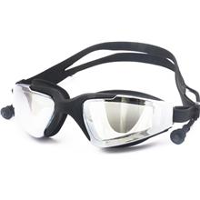 Swim Swimming Goggles with Anti Fog Technology attached ear plug