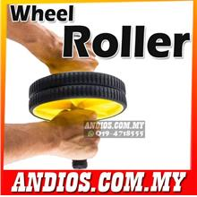 Exercise Wheel Roller-Gym Fitness Workout Abs Core.Abdominal