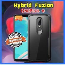 Ultra Hybrid Fusion Transparent Back OnePlus 6 One Plus 6 case cover