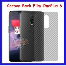 CARBON DESIGN Transparent Clear Back Film OnePlus 6 One Plus 6