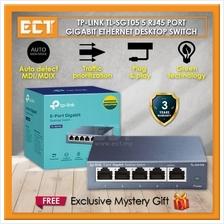 TP-Link TL-SG105 5-Port 10/ 100/ 1000Mbps Desktop Switch
