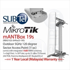 Outdoor WiFi AP AC mANTBox 19S RB921GS-5HPacD-19S Mikrotik Sector
