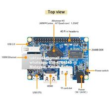 Orange Pi One H3 Quad Core 512MB DDR3 Ram Development Board
