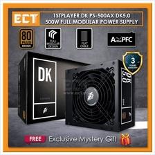1STPLAYER DK 5.0 E-Sport 500W Full Modular 80 Plus Bronze Gaming Power