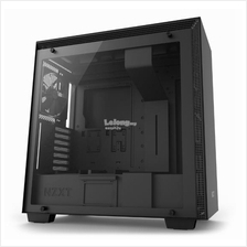 NZXT H700 TG E-ATX CHASSIS - BLACK