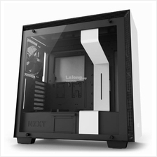 NZXT H700 TG E-ATX CHASSIS - BLACK/WHITE
