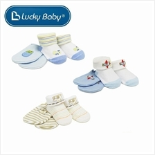 Lucky Baby First Soks Mitten and Sock Set 0 - 3 Months (Boy))