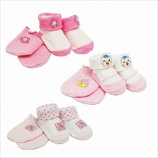Lucky Baby First Soks Mitten and Sock Set 0 - 3 Months (Girl))