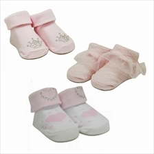 Lucky Baby First Soks Fold Up Socks 0 - 6 Months (Girl) (1pair))