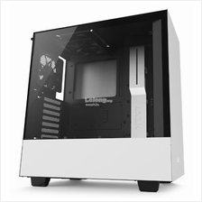 NZXT H500 TG ATX CHASSIS - BLACK/WHITE