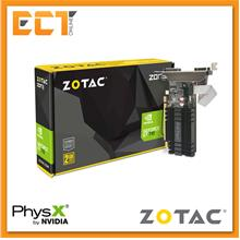 Zotac Geforce GT 710 Edition 2GB DDR3 64-Bit PCI-E Graphic Card (with