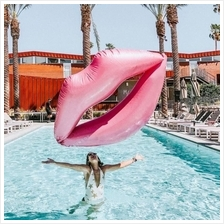 ROUGELIPS Giant Inflatable Rouge Lips Pool Float + FREE Air Pump