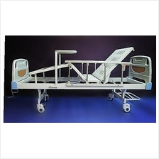 Katil pesakit hospital bed ABS deluxe double fowler with table