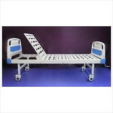 Katil pesakit hospital bed ABS single fowler with silent wheels