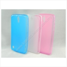 Huawei G716 Pudding Anti Dust Transparent TPU Soft Tinted Case