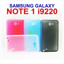 Samsung Galaxy Note 1 I9220 TRANSPARENT MOSHA ULTRA SLIM JACKET CASE