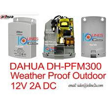 Dahua 12V 2A Outdoor Power Supply CCTV Adapter DH-PFM300 Weatherproof