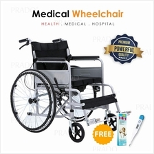 PRADO OKU Light Weight Heavy Duty 100KG Home Travel Medical Wheelchair