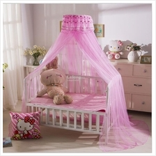 Elegant Baby Bed Mosquito Net (2 color available)