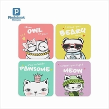 Photobook Malaysia Set of 4 Coasters)