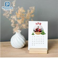 Photobook Malaysia Calendar Cards with Wood Stand)