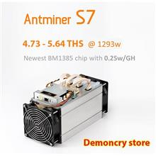 Antminer S7 4.74 - 5.64ThS Miner (0.25 J/GH) Small size (READY STOCK)