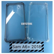 SAMSUNG Galaxy A6 / A6 PLUS J4 J6 2018 ANTIDROP Hard Transparent Case