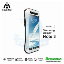 LOVE MEI Powerful Small Waist Protective Case for Samsung Galaxy Note