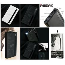 REMAX 20000mAh Triple Output LCD Fast Charge USB Power Bank Battery