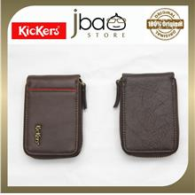 Kickers Leather Zipper Credit Access T &G Member VIP Card Holder C8713