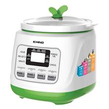 Khind Baby Porridge Cooker BP12 (1.2L) Ceramic Pot  & Micro Computer C