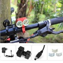 DARK KNIGHT K2E 2 X CREE XML-T6 LED BIKE HEADLIGHT 4 MODES BICYCLE LIG