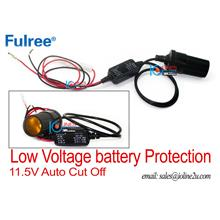 12v DC Car 11.5V Low voltage cut off battery protection Recorder DVR c