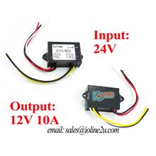 24V to 12V 10A step down converter Buck Memory ACC Remote Power Lorry
