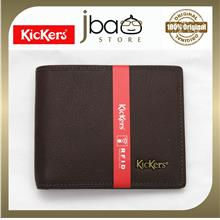 Kickers C84194-DGY RFID SECURE Protection Men Leather Wallet Raya Fath