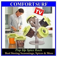 FREE GIFT + Pop Up Seasoning Spice Ingredients Kitchen Storing Rack