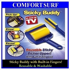 Reusable & Washable Sticky Buddy Picker Roller Cleaner Dirt Remover