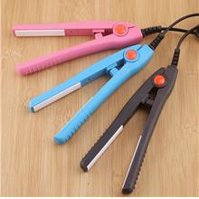 Mini Portable Electric Splint Flat Iron Ceramic Hair Curler  & Straigh