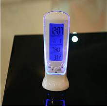 Led Luminous Mini Date Temperature Week Electronic Alarm Clock