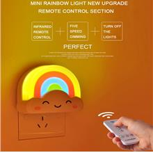 Mini Remote Rainbow Lights Colorful Cloud